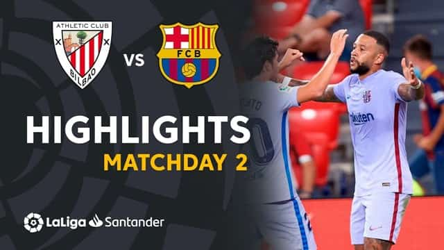 Video Highlight Athletic Bilbao - Barcelona