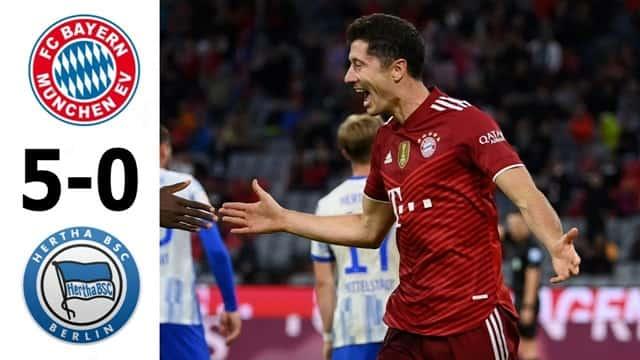 Video Highlight Bayern Munich - Hertha Berlin