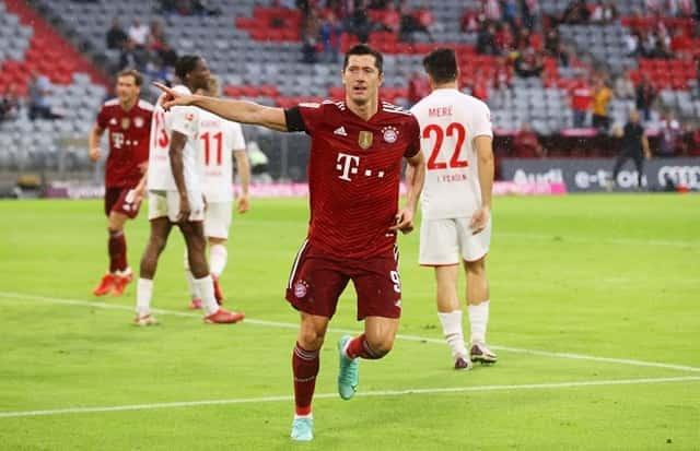 Lewandowski mở tỷ số cho Bayern Munich