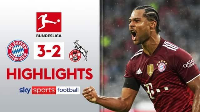 VIdeo highlight Bayern Munich - Cologne