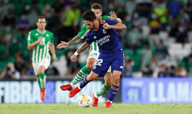 Real vấp phải hàng thủ được tổ chức tốt của đội chủ nhà Betis