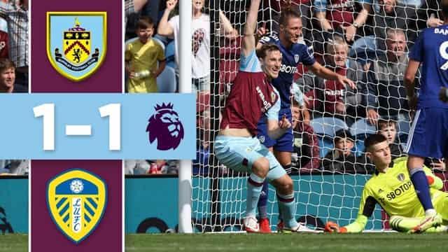 Video Highlight Burnley - Leeds United