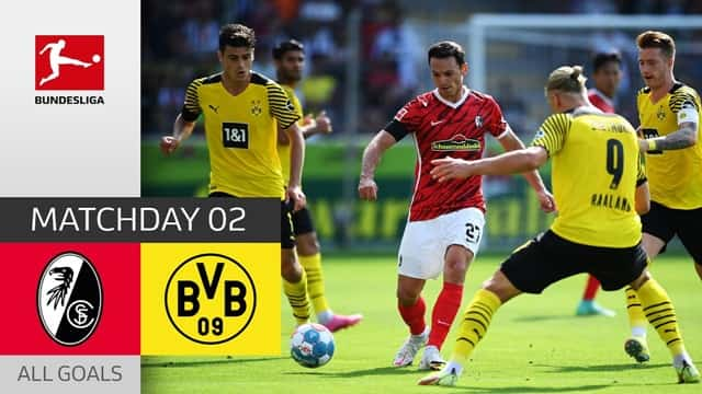 Video Highlight Freiburg - Dortmund