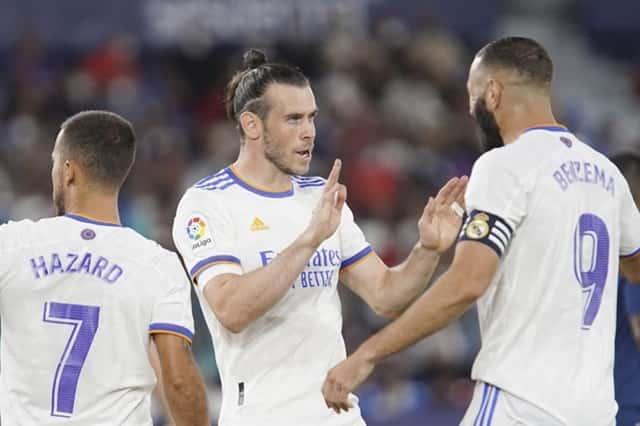 Bale mở tỷ số cho Real Madrid ngay ở phút thứ 5