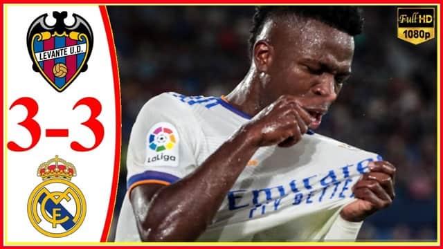 Video Highlight Levante - Real Madrid