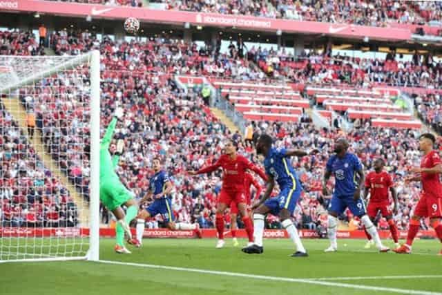 Havertz đánh đầu hiểm hóc đưa Chelsea dẫn trước