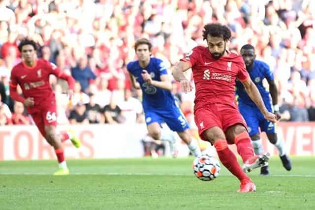 Salah gỡ hòa cho Liverpool trên chấm 11m