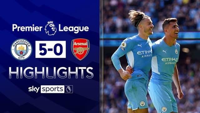 Video Highlight Man City - Arsenal