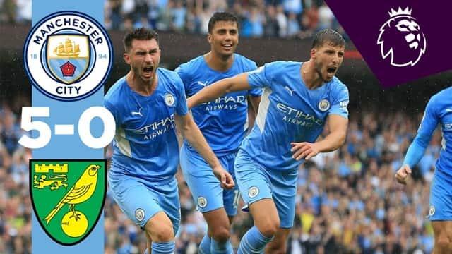 Video Highlight Man City - Norwich