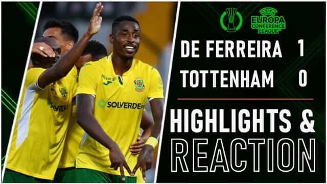 Video Highlight Pacos - Tottenham