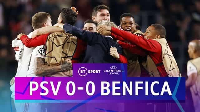 Video Highlight PSV - Benfica