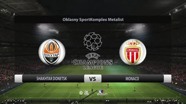 Video Highlight Shakhtar - Monaco