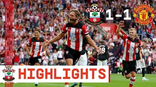 Video Highlight Southampton - MU