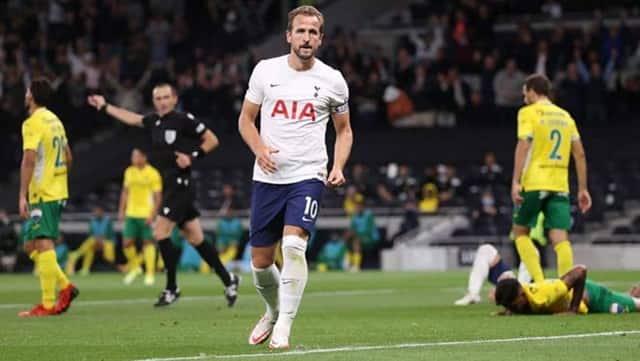 Harry Kane lập cú đúp ngay trong trận đá chính đầu tiên cho Tottenham mùa này
