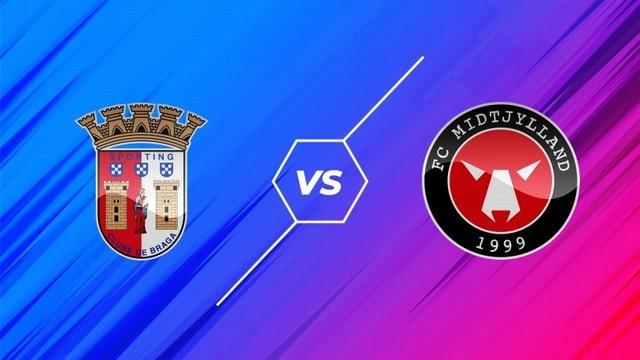 Braga vs Midtjylland, 02h00 – 1/10/2021 – Europa League