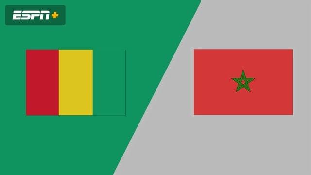 Guinea vs Marocco, 23h00 - 06/09/2021 - Vòng Loại WC Khu Vực Châu Phi