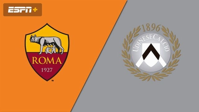 Roma vs Udinese, 01h45 - 24/09/2021 - Cup Quốc Gia Italia