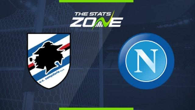 Sampdoria vs Napoli, 23h30 - 23/09/2021 - Cup Quốc Gia Italia
