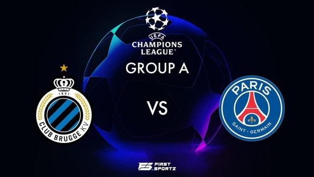 Club Brugge vs PSG, 02h00 – 16/09/2021 – Champions League