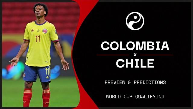 Colombia vs Chile, 06h00 - 10/09/2021 - Vòng Loại WC Khu vực Trung-Bắc Mỹ