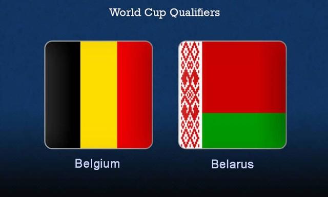 Belarus vs Bỉ, 01h45 - 09/09/2021 - Vòng Loại WC Khu Vực Châu Âu