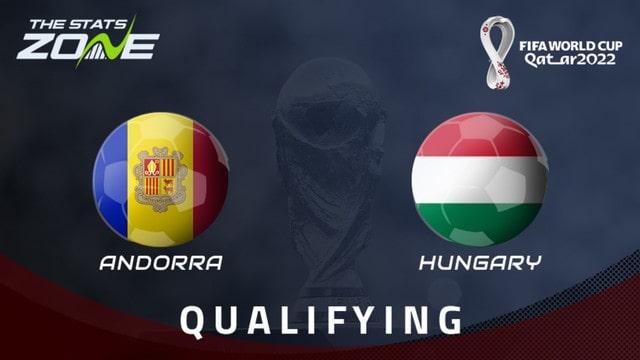 Hungary vs Andorra, 01h45 - 09/09/2021 - Vòng Loại WC Khu Vực Châu Âu