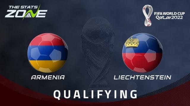 Armenia vs Liechtenstein, 23h00 - 08/09/2021 - Vòng Loại WC Khu Vực Châu Âu