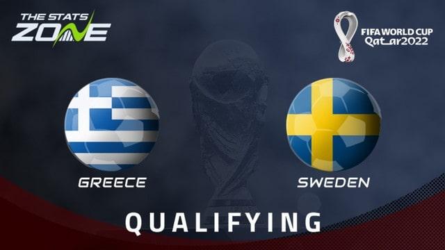 Hy Lạp vs Thụy Điển, 01h45 - 09/09/2021 - Vòng Loại WC Khu Vực Châu Âu