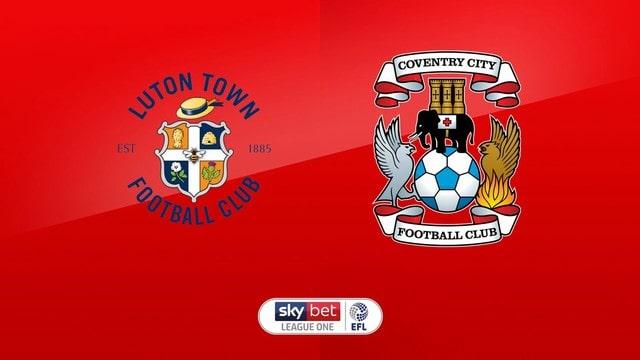 Luton vs Coventry, 01h45 - 30/09/2021 - Hạng Nhất Anh