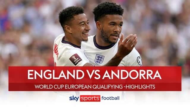 Video Highlight Anh - Andorra
