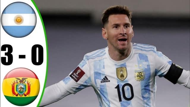 Video Highlight Argentina - Bolivia