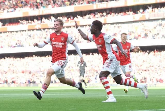 Arsenal giải quyết trận đấu trong 45 phút đầu tiên