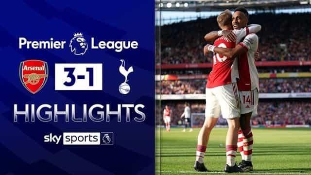 Video Highlight Arsenal - Tottenham