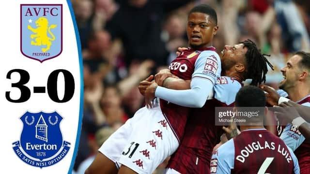 Video Highlight Aston Villa - Everton