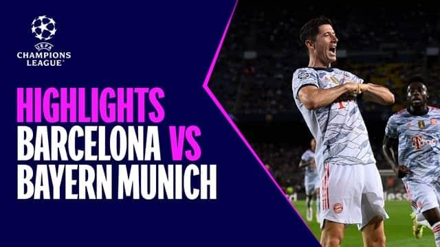 Video Highlight Barcelona - Bayern Munich