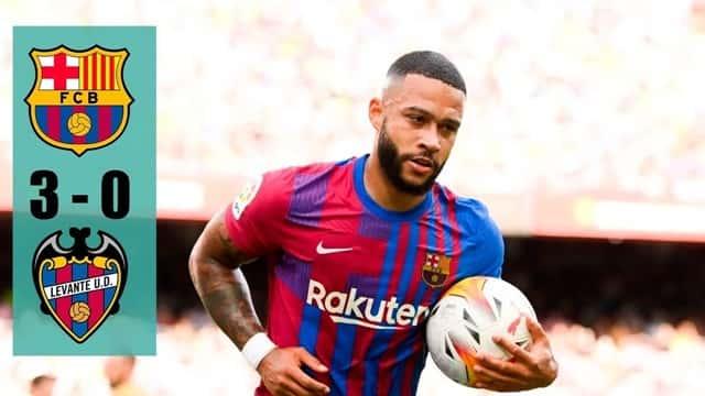 Video Highlight Barcelona - Levante