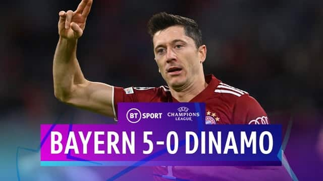Video Highlight Bayern Munich - Dinamo Kiev