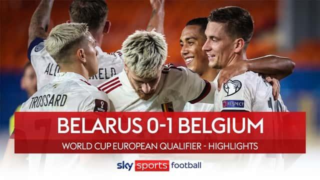 Video Highlight Belarus - Bỉ