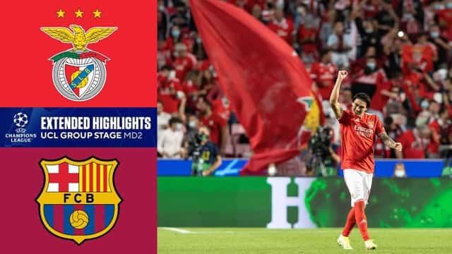 Video Highlight Benfica - Barcelona