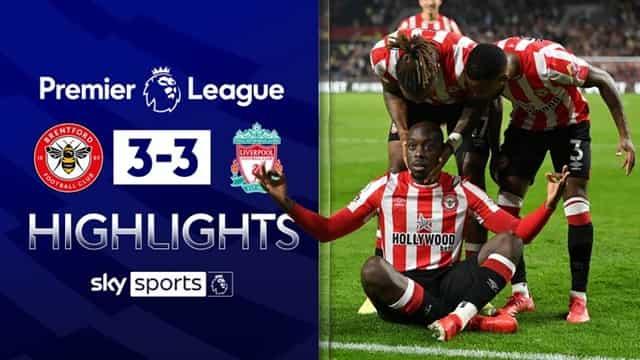 Video Highlight Brentford - Liverpool