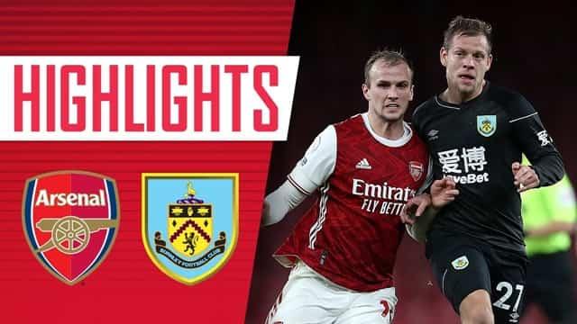 Video Highlight Burnley - Arsenal