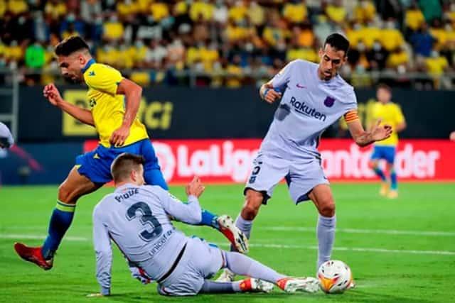 Cadiz là đối thủ không dễ chơi với Barca khi họ đang gặp khủng hoảng