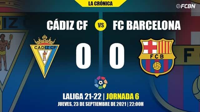 Video Highlight Cadiz - Barcelona
