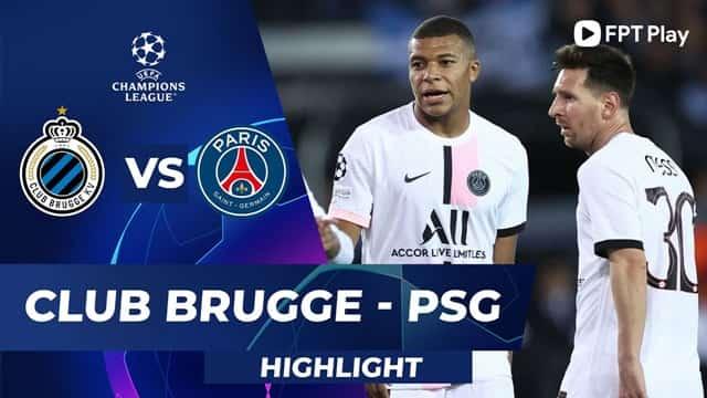 Video Highlight Club Brugge - PSG