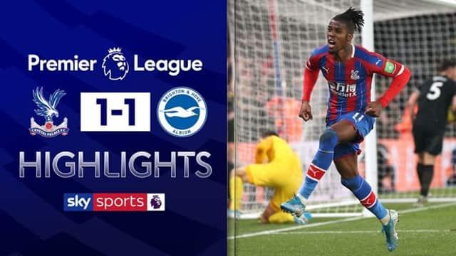 Video Highlight Crystal Palace - Brighton