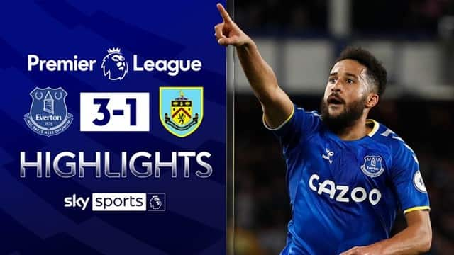 Video Highlight Everton - Burnley