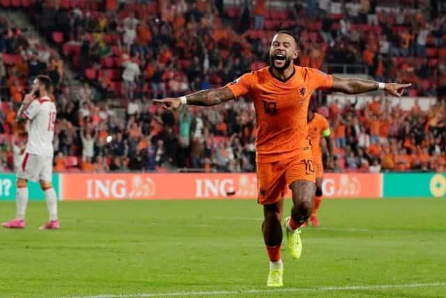 Depay tỏa sáng giúp Hà Lan đại thắng Montenegro