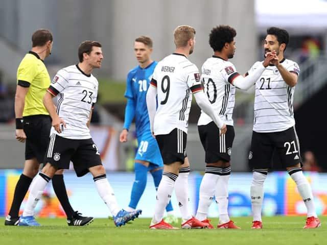 ĐT Đức nhanh chóng có được bàn thắng dù làm khách của Iceland