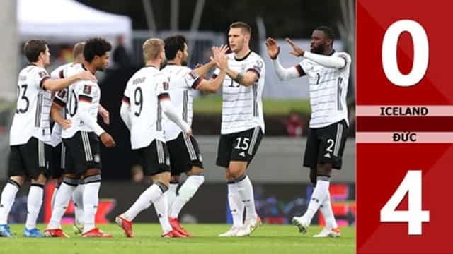Video Highlight Iceland - Đức