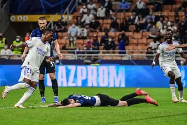 Real thắng nghẹt thở Inter Milan